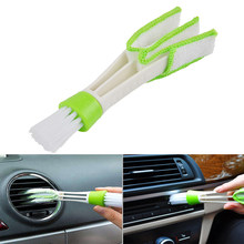 Plastic Cloth Car Brush Cleaning Accessories Auto Air Conditioner Vent Cleaner Keyboard Dust Computer Car-styling Tools Hot Sale(China)