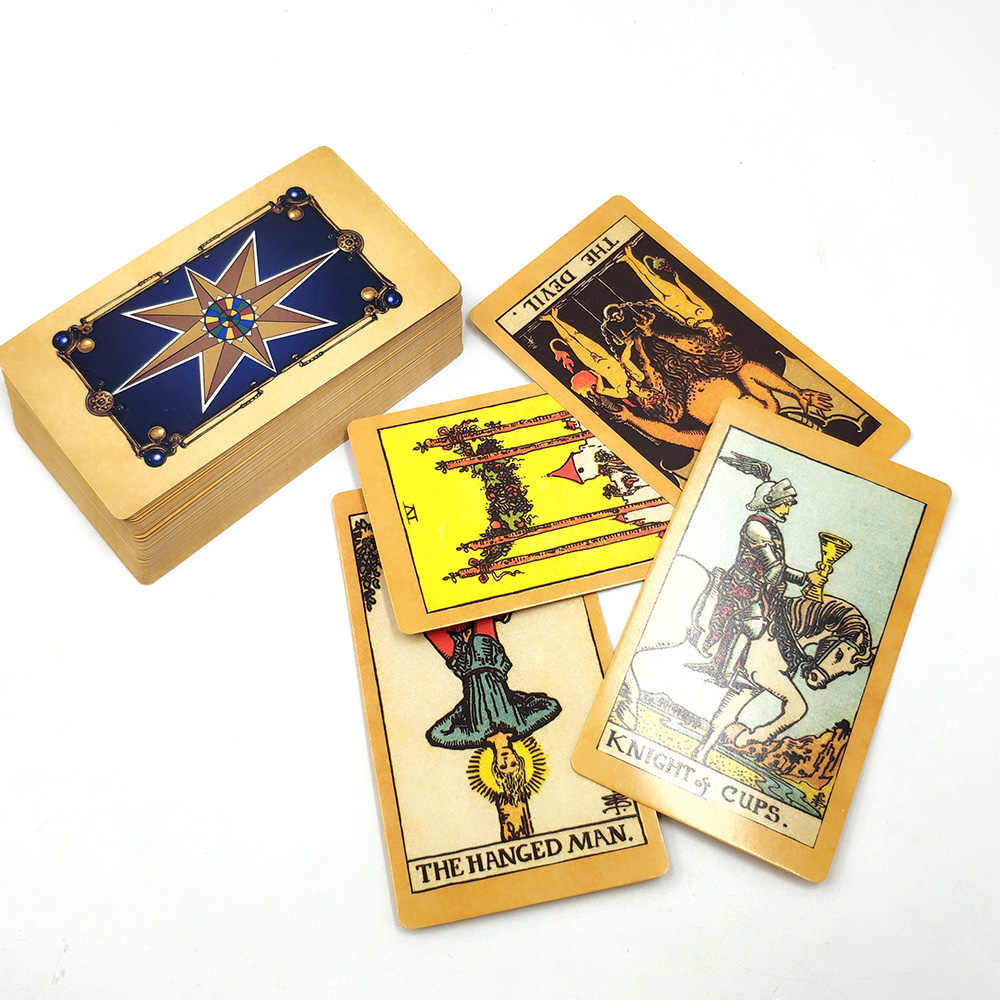 hot sale radiant rider wait tarot cards Full English smith tarot deck cards  game board game