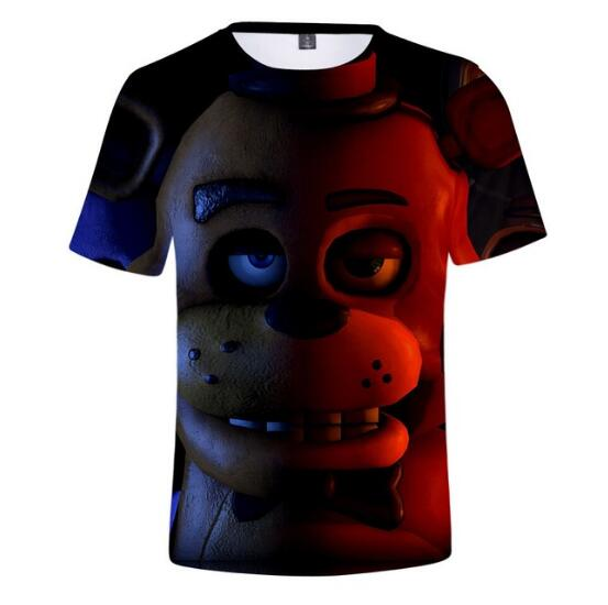 T-Shirts Boys Trendy Five-Nights Girls Fashion Children Summer Lovely New Wear And At