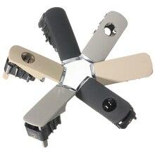 Перчатки chrome флажок lock крышкой ручка с отверстием темно-серый для Audi A4 8E B6 B7 2001 2002 2003 2004 2005 2006 2007
