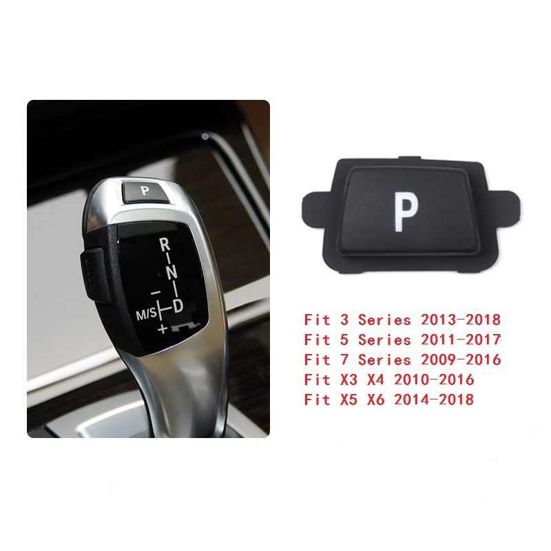 Kiểu Dáng xe ABS Nội Thất Điện Tử Gear Dịch Chuyển P Nút Bọc Viền Cho XE BMW 3 5 7 Series F10 E90 G30 f01 X1 X3 X5 E70 Tốt Phù Hợp Với