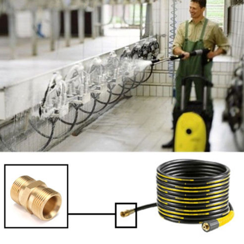 M22/14mm to Male Adaptor Power Pressure Washer Pump Hose Outlet for Karcher