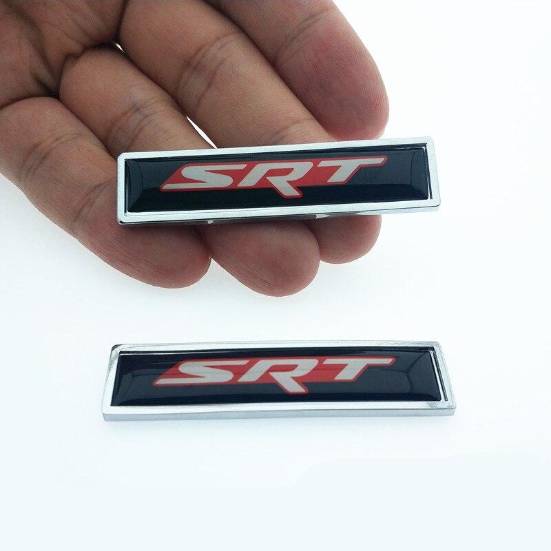 For Dodge Logo Emblem Car Badge Decal Decoration Side Badge Fender Sticker