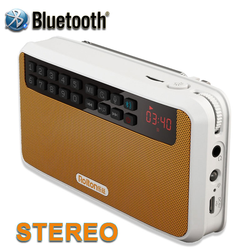 New 2016 Portable Mini Bluetooth Speakers Wireless Hands Free With FM Radio Support TF Card Play And Recorder And Flashlight