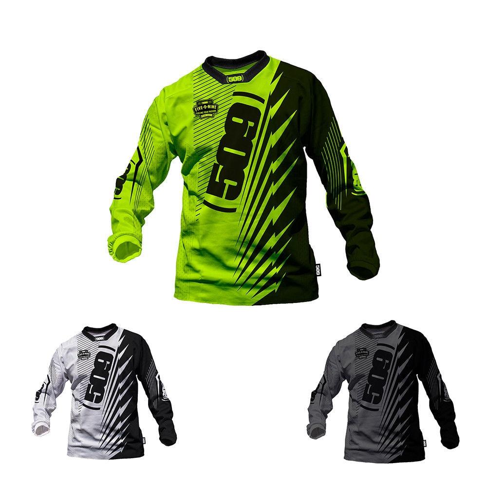 Moto Jersey Bike Downhill Mountain-Dh Long-Sleeve Off-Road MX MTB