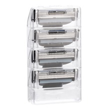 4pcs/lot New 3 Layer Razor Blades for Men Gile Mach Shaver Blade 3 Replace Head Beauty Beard Refills Cartridge Shaving Blades