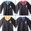 O envio gratuito de adultos manto assistente robe tie gryffindor fancy dress costume outfit s-2xl 4 cores