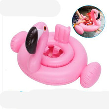 0-1-3-5 years old Swimming pool and accessories Baby child boy girl Seat Float circle  pool Inflatable Flamingo Inflatable Water 0 3 years old baby inflatable flamingo swan pool float with sunshade ride on swimming ring safe seat water toys infant circle