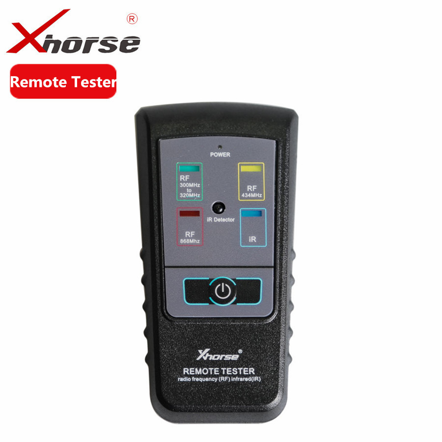 Xhorse Remote Tester for Radio Frequency Infrared RF IR Remote Tester For 300Mhz-320hz 434Mhz 868Mhz