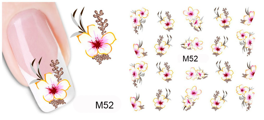 Aliexpress.com : Buy New Water Transfer Nail Art Decorations Stickers For  Nails Water Decals Beauty Red Flowers Nail Design Stickers Manicure Tools  from ... - Aliexpress.com : Buy New Water Transfer Nail Art Decorations