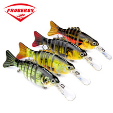 7 Segments Fishing Lure Wobbler Lifelike Bait 112mm/14g Saltwater Deep Diving Hard Bait 6# Hook Swimbait Artificial Baits Tackle diving distant baits big bait pike bait wobbler fishing tackle insect bait fake black hard baits bass beaded nightlight baits