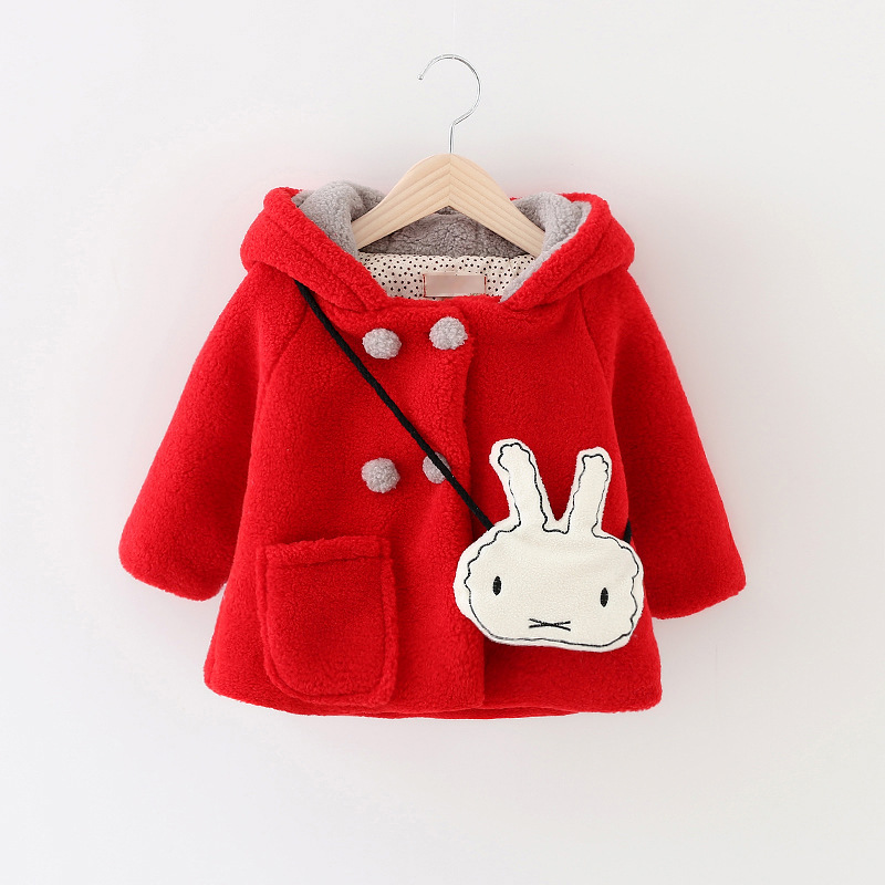 b9eec80b5 New Winter Baby Thickening Cotton padded Jacket Infant Polar fleece ...