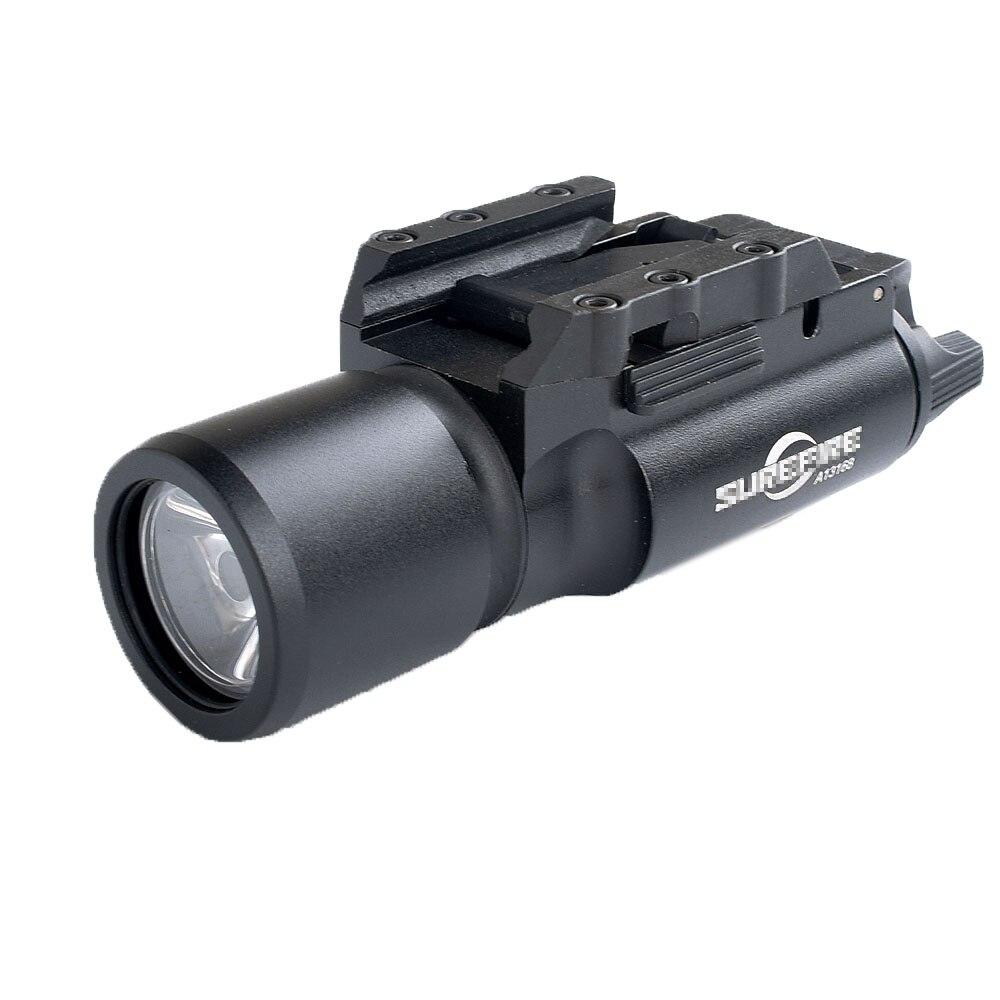 WIPSONTactical X300 lampe de Poche Étanche Arme Légère Pistolet Pistolet Lanterna Rifle Picatinny Weaver Mont Pour La Chasse Streamlight