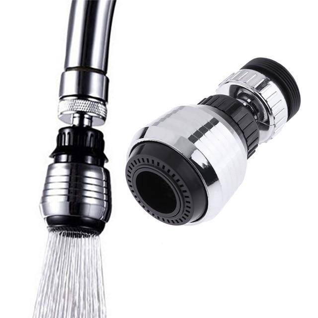 360 度回転キッチン蛇口ノズル Torneira 水フィルター節水シャワーヘッドノズルタップコネクタドロップシッピング