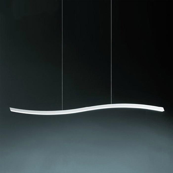New Suspension Led Pendant Light dining room bar shop modern led pendant lamp Led fixtures wave strip style AC110/220V ZDD0036New Suspension Led Pendant Light dining room bar shop modern led pendant lamp Led fixtures wave strip style AC110/220V ZDD0036