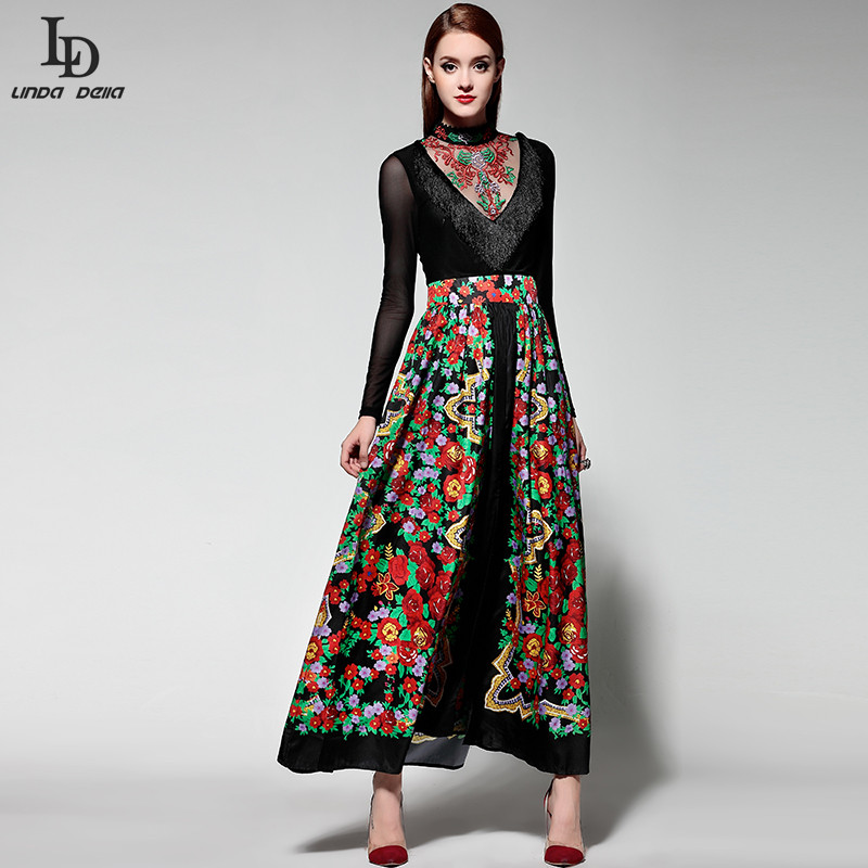 Popular Long Sleeve Maxi Designer Dress-Buy Cheap Long Sleeve Maxi ...