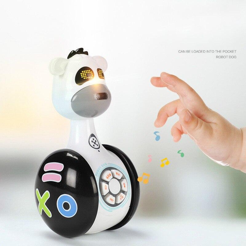 Télécommande intelligente Robot chien enfants jouet Intelligent parlant Robot chien jouet électronique Pet cadeau d'anniversaire