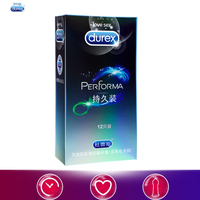 Durex Condoms Safe Delay Prolong Condom Long Lasting Medium Size 52mm Sex Products 12 Pcs Sex Toys for Men Lubricant Sleeve