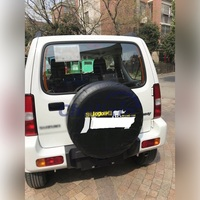 Space Saving Spare Wheel Protective Cover car accessories for 2012 2013 2014 Suzuki jimny 14# tire funny car stickers