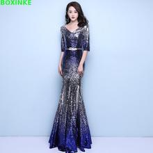 Zanzea Lanon Real Ukraine Sleeve Evening Party Dresses New Fashion Women Floor Length Gown Sequin Dress Plus Size Clothing