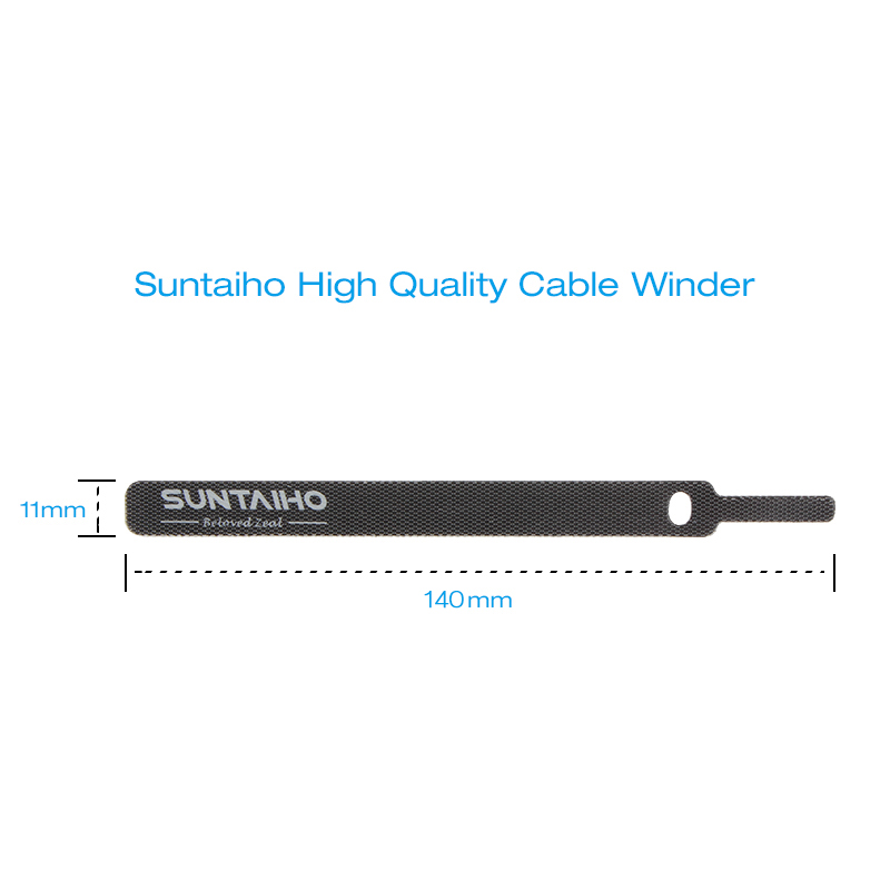 Suntaiho Cable Organizer USB Cable Winder For iPhone Samsung Type c Micro Usb Free Length Cable Clip Office Desktop Management