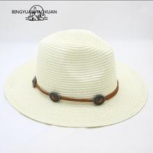 05eb24988 lowprice BINGYUANHAOXUAN Summer Unisex Sun Hat Casual Holiday Panama ...