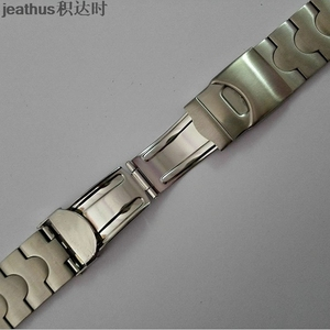 Image 3 - Jeathus watchbands replacement for swatch steel belt ycs410gx 438 511 19mm stainless steel strap irony man bracelet watch band