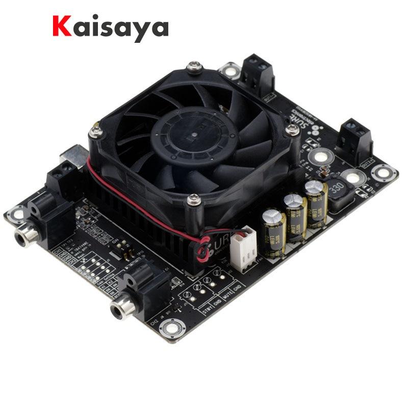 high quality TDA7498 2 x 100W 6 Ohm Class D Audio Amplifier Board Stereo Power hifi Amplifiers stereo audio amplifier 2 x 40w