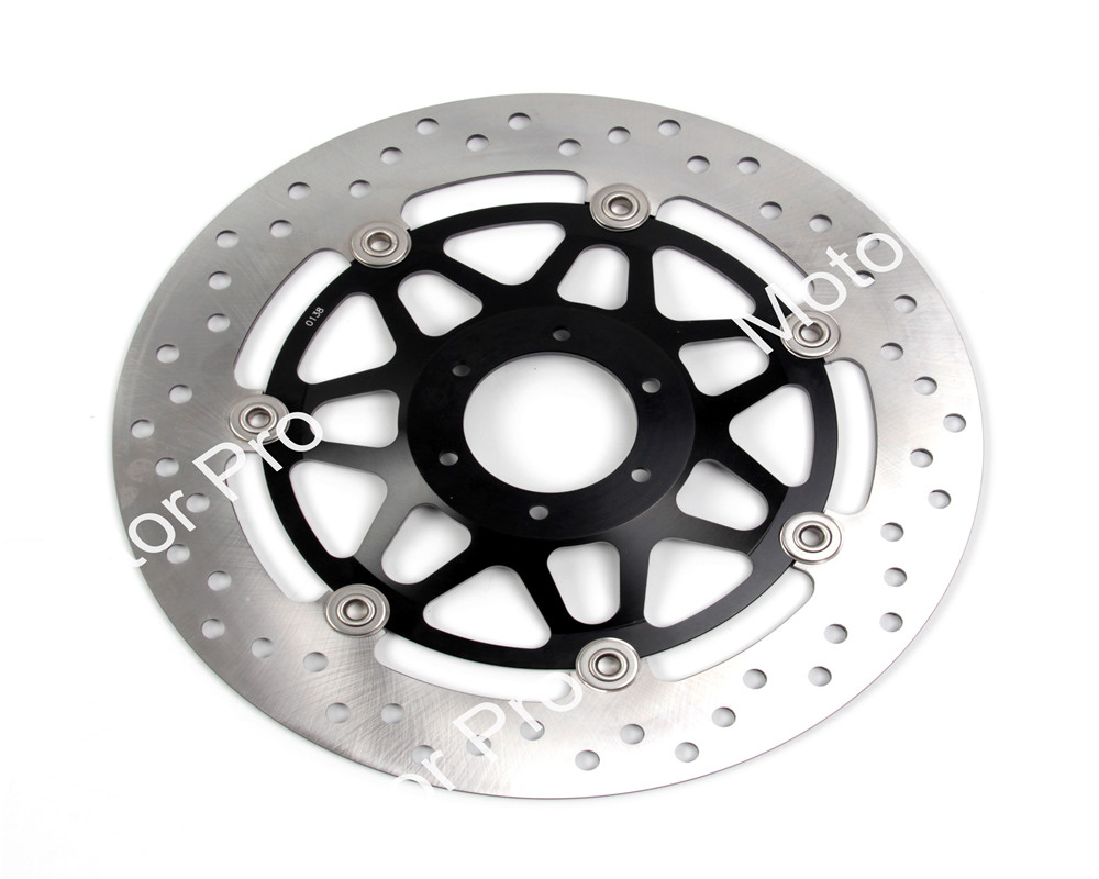 Front Brake Disc FOR HONDA RS R 125 1991 1992 1993 1994 1995 1996 1997 1998 1999 2000 2001-2005 RS GP 125 brake disk Rotor RS125 2 pieces motorcycle front disc brake rotor scooter front rear disc brake rotor for honda cb400 1994 1995 1996 1997 1998