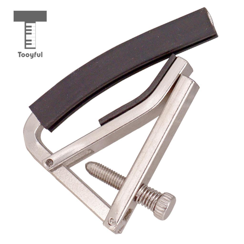 tooyful multi function quick change tune clamp key trigger capo capotastos acoustic electric. Black Bedroom Furniture Sets. Home Design Ideas