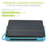 Solar Power Bank 15000mAh Power Bank Solar Phone Charger for iPhone 4s 5 5s SE6 6s 7 8 iPhone 10 iPhone X iPad mini iPad air.