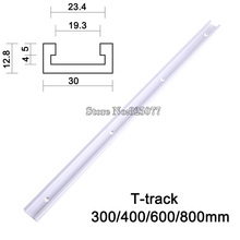 T-tracks T-slot Miter Track Jig Fixture Slot For Router Table Band Saw length 300/400/600/800mm KF713