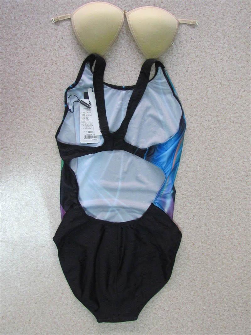 TRIKINI 17 Beach Wear Sports Body Suit One Piece Swimsuit Bandage Swimwear Bathing Suits Women Black 2XL 3
