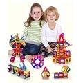 50 pçs/set Variedade de folha Magnética blocos de construção magnético blocos de construção montadas peças brinquedos Educativos Iniciais das crianças
