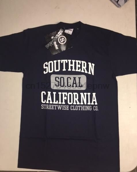 Streetwise Welcome to Cali Graphic T-Shirt Black M-L-XL-2XL-3XL-4XL-5XL