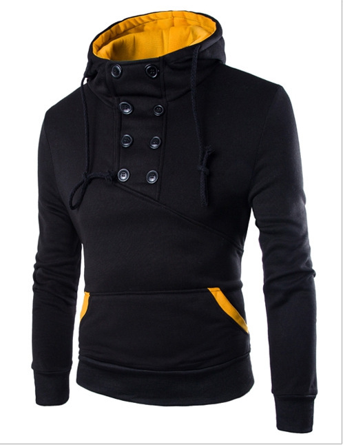 MRMT 2019 Brand New  Men's Hoodies Sweatshirts Double-breasted Jacket Pullover For Male Short Slim Hoodie Sweatshirt