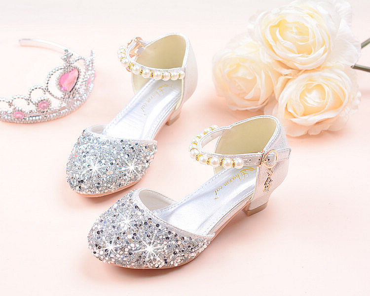 princesa sapatos tamanho 26-38 tira rosa gzx03
