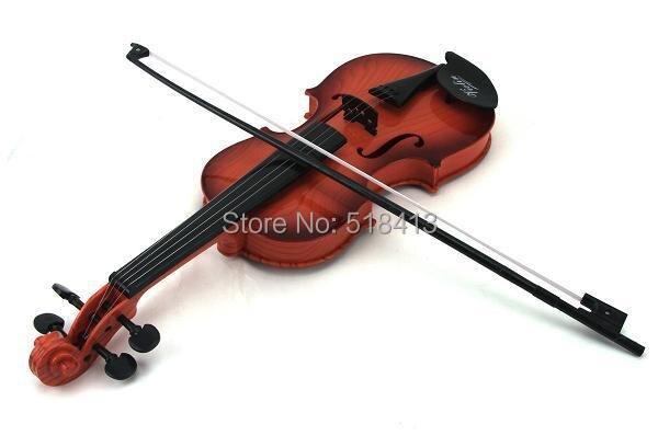 Nouveaux jouets éducatifs anneau tactile huit enfants violon Instruments de musique enfant apprentissage et exercice Type plastique ajustable