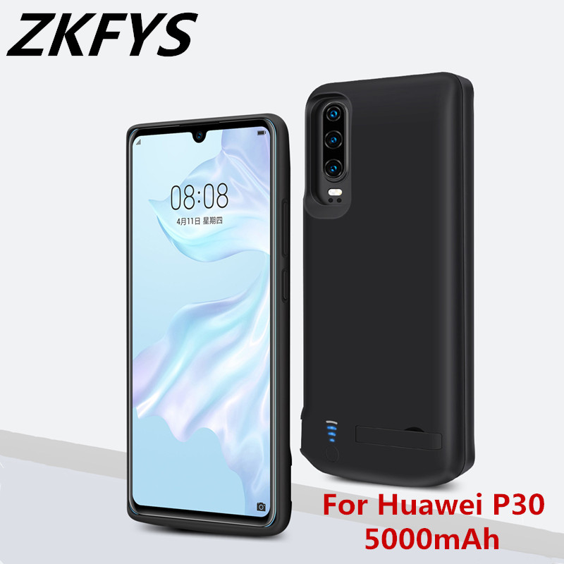 ZKFYS 5000mAh High Quality Power Case For Huawei P30 Battery Charger Smart Phone Cover Bank p30