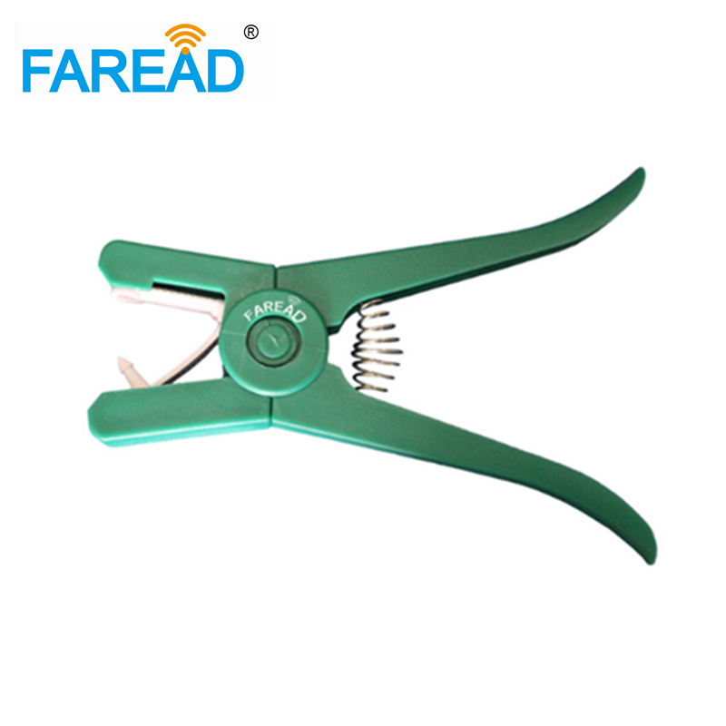 High Quality Free Shipping Plastic High Quality RFID Animal ID Ear Tag Plier For Sheep