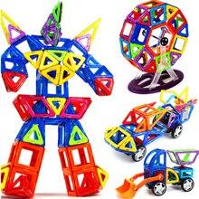 19 149 قطعة ثلاثية الأبعاد كبيرة الحجم المغناطيسي اللبنات المغناطيسي مصمم ألعاب البناء ألعاب تعليمية للأطفال هدية