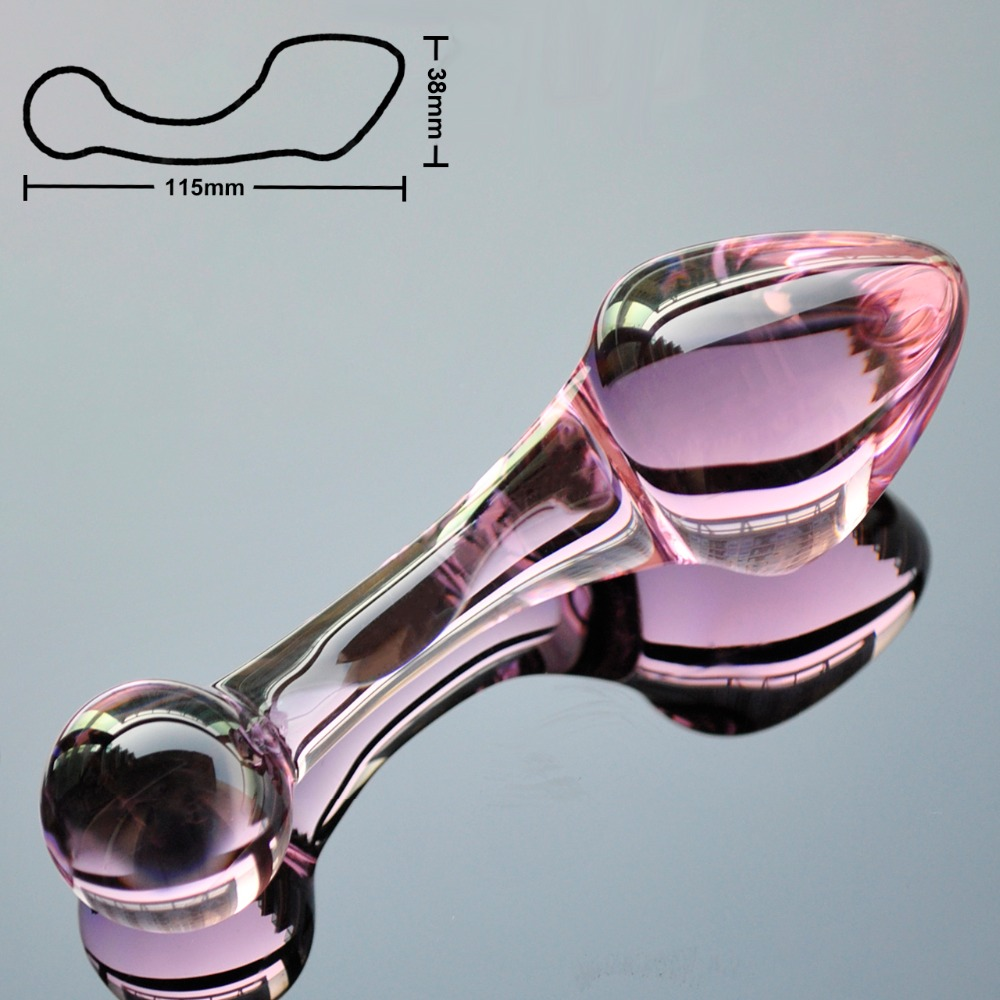 Faraway Anal Plug Crystal Pyrex Glass Crystal Dildo Fake Anal Plug Butt Plug Sex Toys Adult Products Masturbator