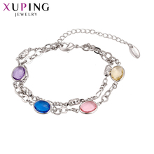 11.11 Deals Xuping Fashion Luxury Jewelry Bracelet With Environmental  Copper for Women Thanksgiving Gift S60,