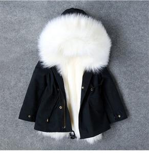 Image 4 - Koude Russische Winter Meisjes Jassen 2019 Jongens Jas Hooded Faux Fur Kinderen Parka Casual Thicken Warm Baby Kids Kleding Bovenkleding