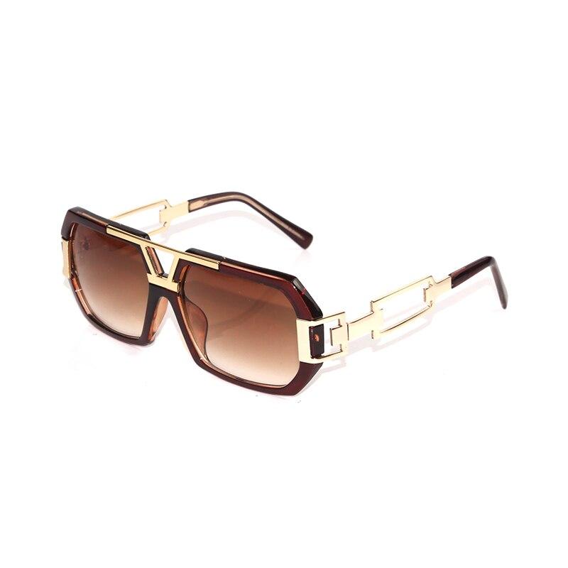 9ffc5d7034 Victorylip Carré Hip Hop Rock femmes Hommes lunettes de Soleil Miroir Mode  Marque Designer Lunettes de Soleil Lady Femme Lunettes objectif Clair dans  ...