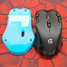 1 set mouse top shell+ bottom case+mouse roller for Logitech G300 G300S Gaming mouse case with mouse feet