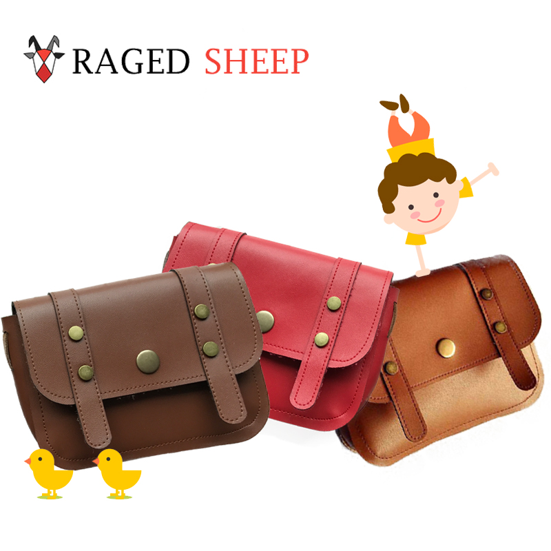 Raged Sheep Girls Small Coin Purse Change Wallet Kids Bag Coin Pouch Children's Wallet Money Holder With Rivet Cover(3 colors)
