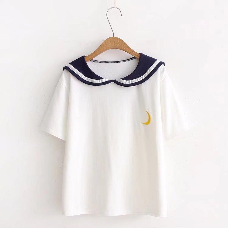Donne Della MAGLIETTA di estate Casual Maniche Corte T-Shirt Top O-Collo Femminile Tshirt degli studenti sciolto montaggio