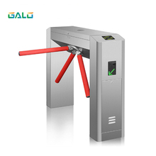 RFID full automatic bridge type tripod turnstile application parking gym building office access control system 304 stainless steel semi automatic tripod turnstile