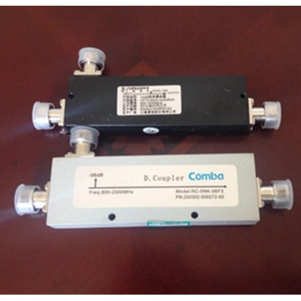 5DB 10db cavidad acoplador acoplamiento de la señal para la antena de interior de la señal del teléfono celular CDMA GSM PHS 3G WLAN booster repetidor